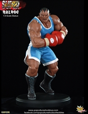 Street Fighter - Balrog 1:4 Scale Statue