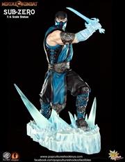 Mortal Kombat - Sub Zero 1:4 Scale Statue