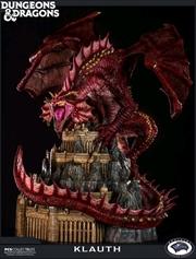 Dungeons & Dragons - Klauth Red Dragon Statue | Merchandise