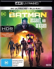 Batman - Assault On Arkham | Blu-ray + UHD