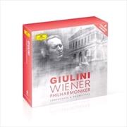 Carlo Maria Giulini And Wiener - Limited Edition Boxset   CD