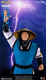 Mortal Kombat - Lord Raiden 1:4 Scale Statue