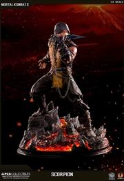 "Mortal Kombat X - Scorpion 21"" 1:4 Scale Statue"