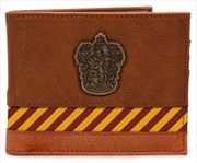 Harry Potter - Hogwarts Metal Crest Wallet | Apparel