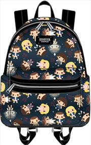 Stranger Things - Eleven Chibi Faux Leather Backpack