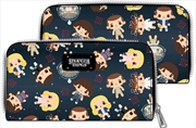 Stranger Things - Eleven Chibi Faux Leather Wallet