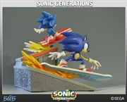 "Sonic the Hedgehog - Generations 12"" Diorama"