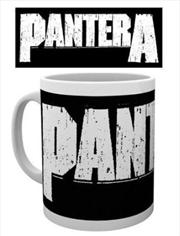 Pantera - Logo Mug