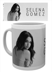Selena Gomez White Mug