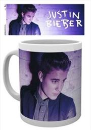 Justin Bieber Purple Mug