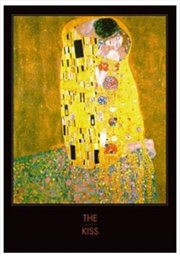 Klimt, Gustav - The Kiss Black Border | Miscellaneous