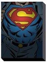 DC Comics - Superman Torso 60X80