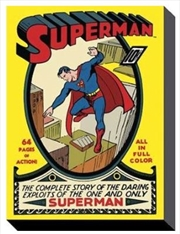 DC Comics - Superman No. 1 60X80 | Miscellaneous