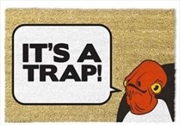 Star Wars Classic - It's A Trap Doormat | Merchandise