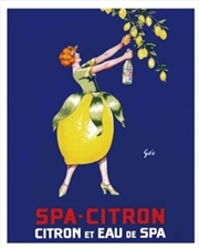 Spa Citron Print | Miscellaneous
