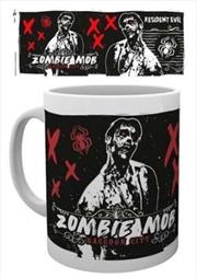 Resident Evil Zombie Mob Mug