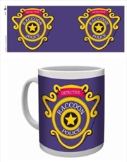Resident Evil - Racoon Police Mug | Merchandise