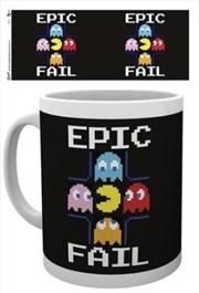 Pacman Epic Fail Mug   Merchandise