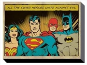 DC Comics - Justice League Unite Against Evil 60X80 | Miscellaneous