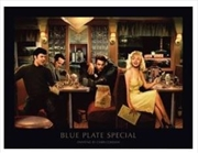 Chris Consani - Blue Plate Special Print | Miscellaneous