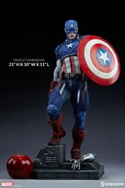 Captain America - Captain America Premium Format 1:4 Scale Statue