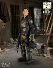 The Walking Dead - Glenn in Riot Gear 1:4 Scale Statue | Merchandise