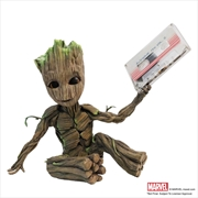 Guardians of the Galaxy: Vol. 2 - Awesome Groot Premium Motion Statue