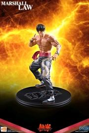 Tekken 5 - Marshall Law Statue