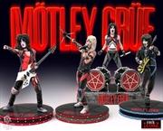 Motley Crue - Rock Iconz Statue Set of 4