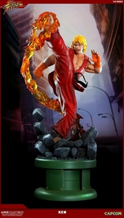 Street Fighter - Ken Masters 1:4 Scale Ultra Statue with Dragon Flame