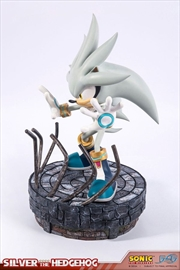 Sonic the Hedgehog - Silver the Hedgehog Statue