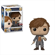 Fantastic Beasts 2: The Crimes of Grindelwald - Newt with Postcard US Exclusive Pop! Vinyl [RS] | Pop Vinyl