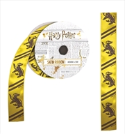 Harry Potter - Hufflepuff Satin Ribbon (5 metres)