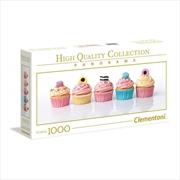 Liquorice Cupcakes 1000 Piece Puzzle | Merchandise