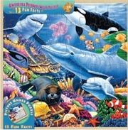 Masterpieces Puzzle Wood Fun Facts Undersea Friends Puzzle 48 pieces   Merchandise