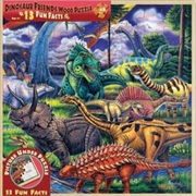 Dinosaur Friends Wood Fun Facts Puzzle 48pc