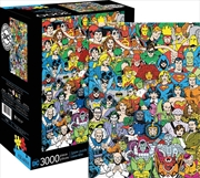 DC Comics Line Up Puzzle 3,000 Pieces