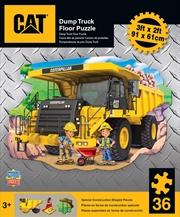 Caterpillar Floor Puzzle 36pc