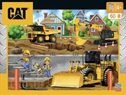 Caterpillar Cityscape Puzzle 60pc | Merchandise
