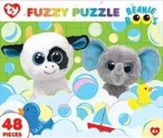 Beanie Boo Bubble Buddies Fuzzy Puzzle 48pc