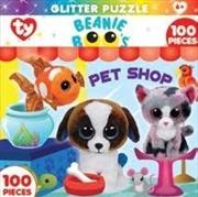 Beanie Boo Petshop Club Glitter Puzzle 100pc
