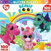 Beanie Boo Fairytale Club Glitter Puzzle 100pc