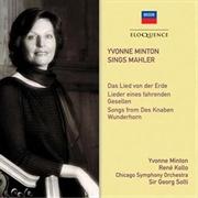 Yvonne Minton Sings Mahler | CD
