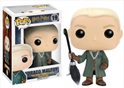 Harry Potter - Draco Malfoy Quidditch US Exclusive Pop! Vinyl