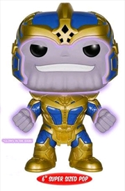 "Guardians of the Galaxy - Thanos Glow 6"" US Exclusive Pop! Vinyl 