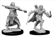 Pathfinder - Deep Cuts Unpainted Male Half-Elf Ranger