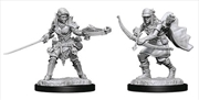Pathfinder - Deep Cuts Unpainted Female Half-Elf Ranger | Games