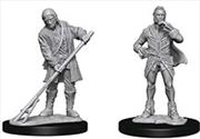 Pathfinder - Deep Cuts Unpainted Miniatures: Towns People (Farmer/Aristocrat) | Games