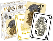 Harry Potter Hufflepuff Playing Cards | Merchandise