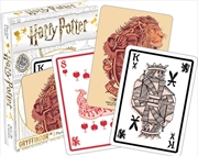 Harry Potter Gryffindor Playing Cards | Merchandise